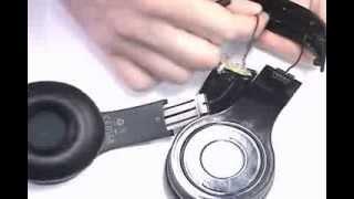 how to replace cracked beats wireless headband