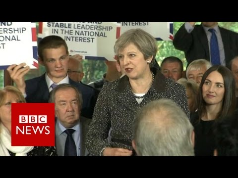 Thumbnail: Theresa May promises 'strong and stable leadership' - BBC News