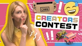 Introducing the Nintendo Labo Creators Contest!