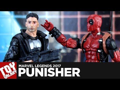 Marvel Legends Man Thing Wave Netflix Punisher