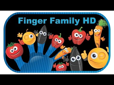 Vegetable And Fruit Finger Family - Nursery Rhymes For Children & More 10 Collection