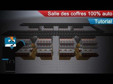 MINECRAFT TUTORIEL : LA SALLE DES COFFRES D'AYPIERRE 100% AUTO (Not work in 1.9)