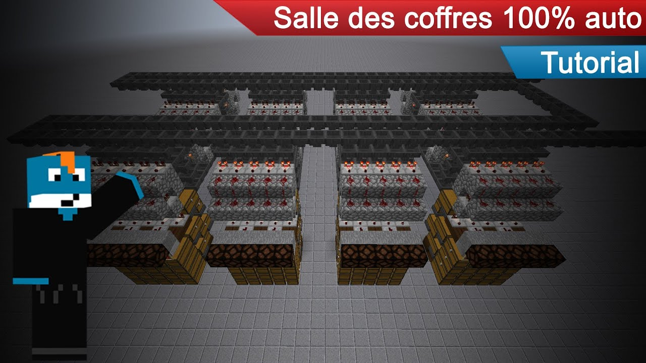 minecraft tutoriel la salle des coffres d 39 aypierre 100 auto not work in 1 9 youtube. Black Bedroom Furniture Sets. Home Design Ideas