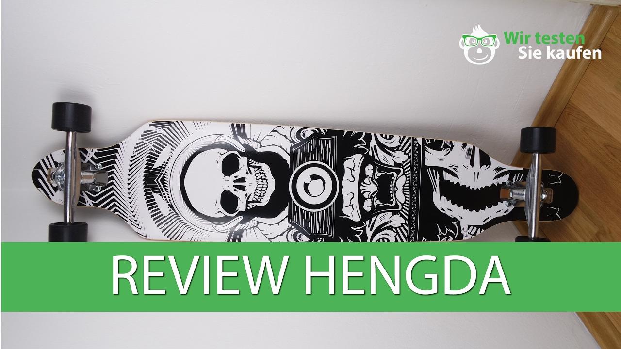 HENGDA Vingo® Longboard Test - Was kann ein Longboard für 30€?