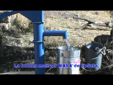 Bomba manual de agua wara youtube - Bomba para sacar agua ...