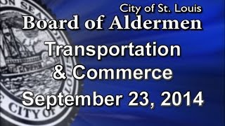 Transportation and Commerce Committee 09 23 2014