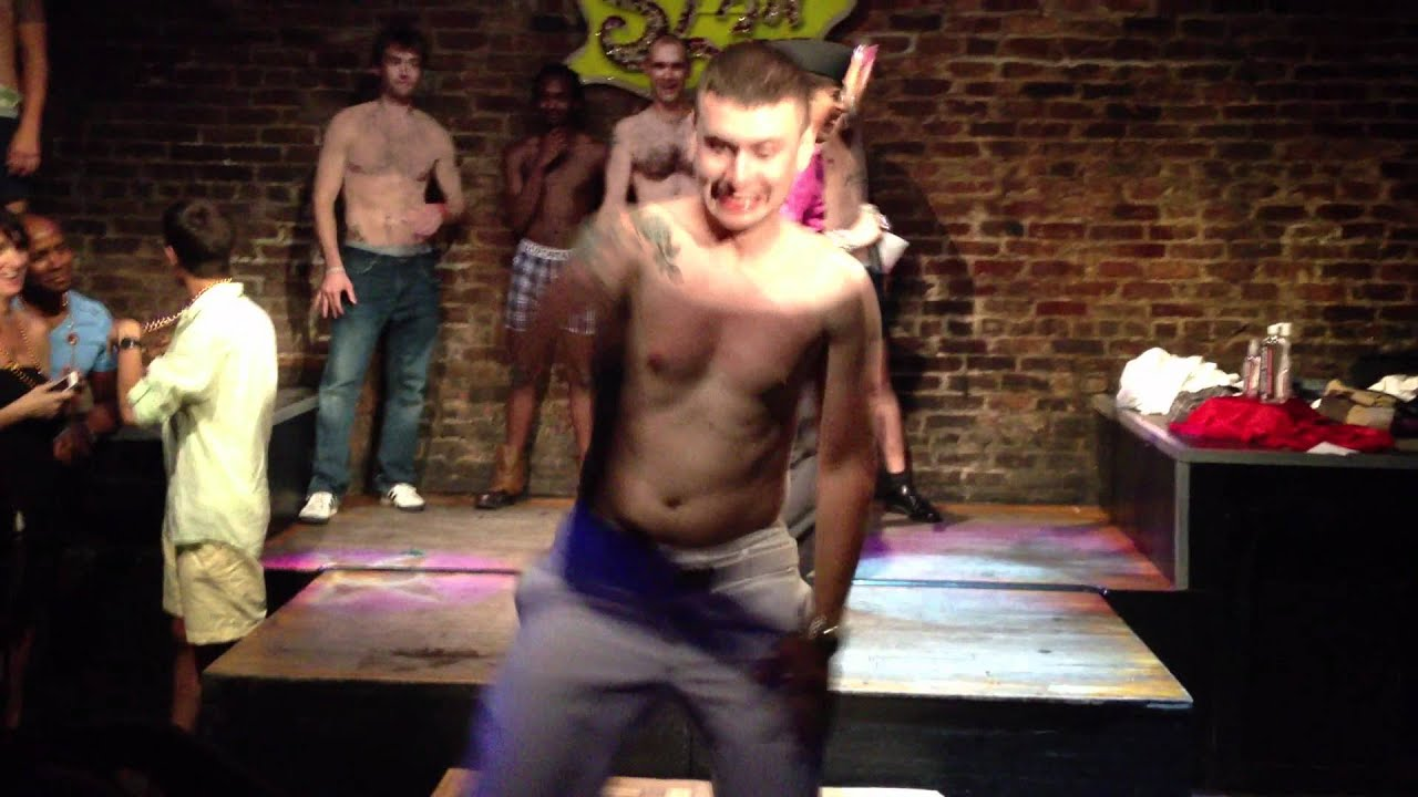 Male strip contest