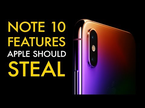 Galaxy Note 10 features Apple should steal for iPhone 11