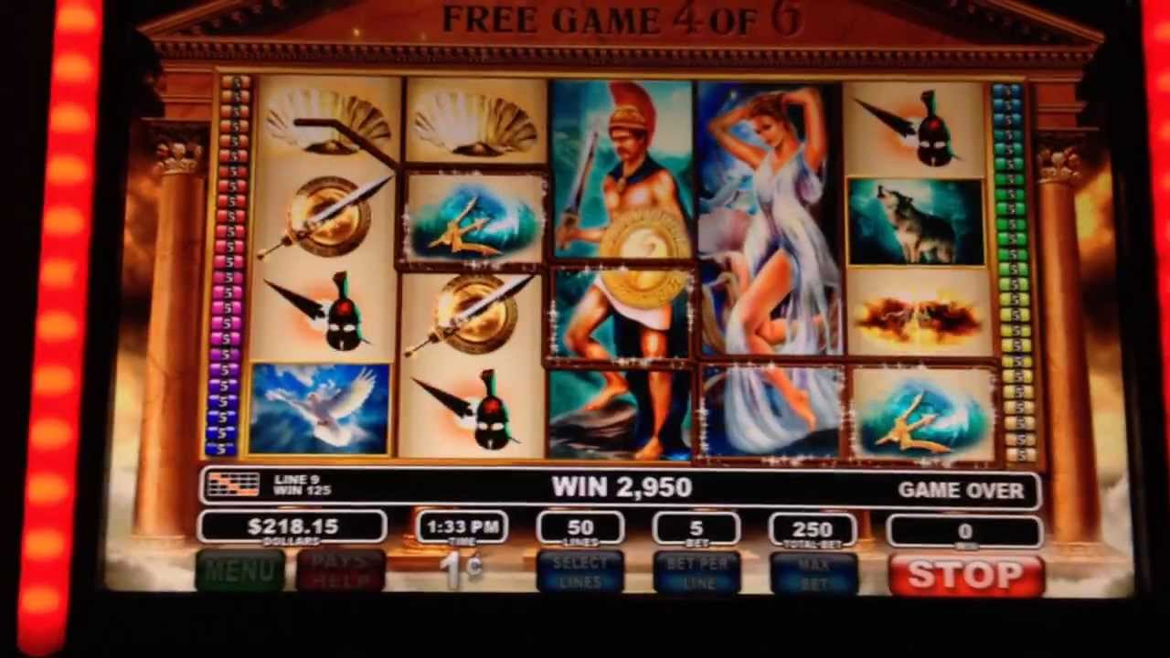 Olympus Thunder Slot Machine - Play for Free Online