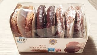 Christmas Cookies Gingerbread Lebkuchen from Germany