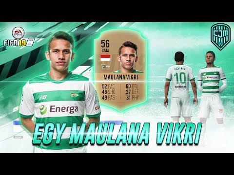 Egy Maulana Vikri & Lechia Gdańsk Di Game EA Sports FIFA 19
