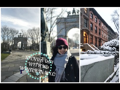Spend The Day W/ Me: Winter In Brooklyn!