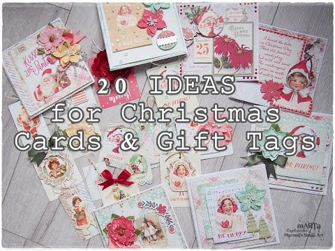 Ideas For Christmas Cards Gift Tags