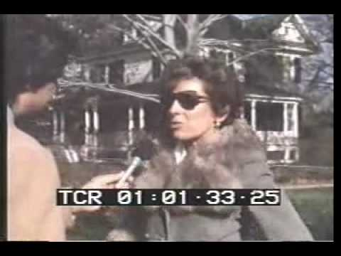 News footage Amityville House Day After Killings