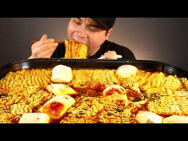 부드러운 순두부 넣은 순두부열라면 먹방~!! 리얼사운드 ASMR social eating Mukbang(Eating Show)