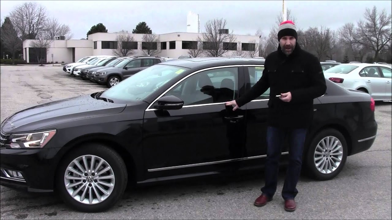 Test Drive Thursday 2016 Volkswagen Passat Comfortline