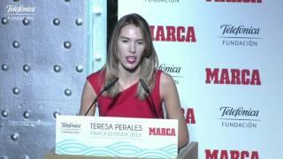 Teresa Perales: entrega del premio Marca Leyenda