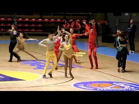 Danze latino americane e caraibiche, competizione Gold Master 2016 (FIDS), Torino.
