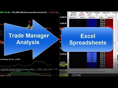 download tradestation trade results to excel youtube