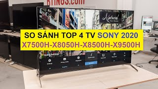 TOP 4 Android Tivi Sony 55