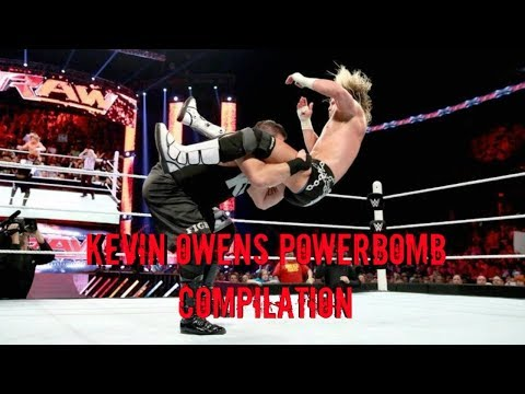 Kevin Owens Powerbomb Compilation