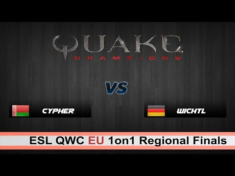 Cypher vs wichtL | QC 1on1 QWC Regional Finals Europe