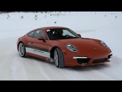 Porsche Ice-Driving Experience with Csaba Csere - CAR and DRIVER