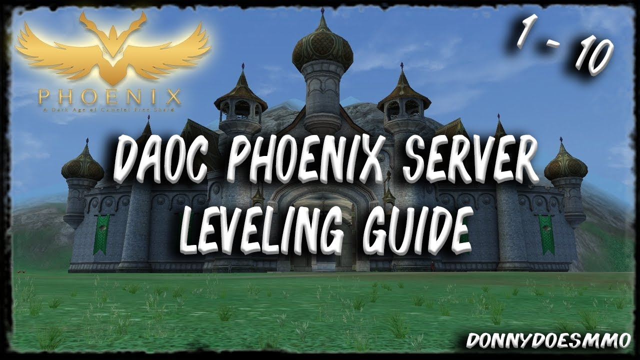 DAoC Phoenix Server | Leveling Guide 1 - 10 | Hibernia