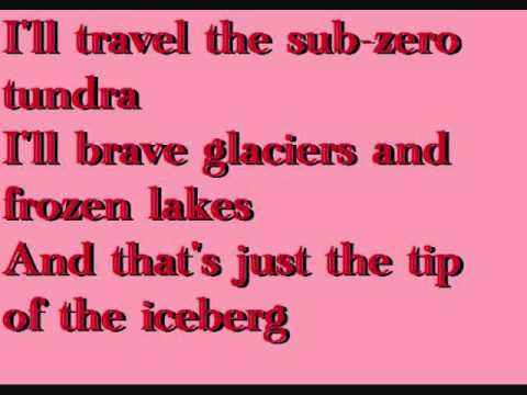 Tip of the Iceberg Owl City Karaoke