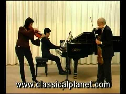 Bruno Giuranna  Johannes Brahms; Sonata for viola and piano in F minor op 120 no