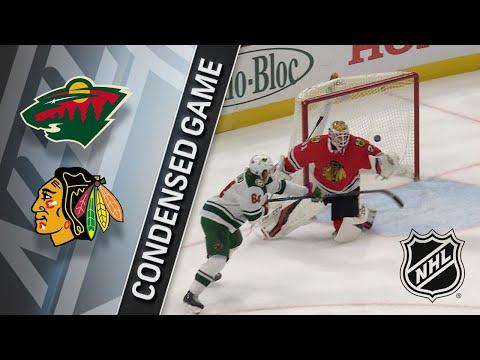 01/10/18 Condensed Game: Wild @ Blackhawks