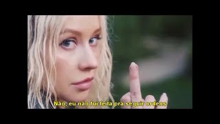 Christina Aguilera & Demi Lovato - Fall In Line (Tradução) (Legendado)