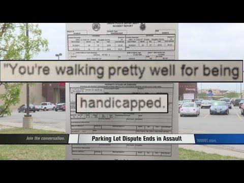 Man assaulted over handicap parking spot