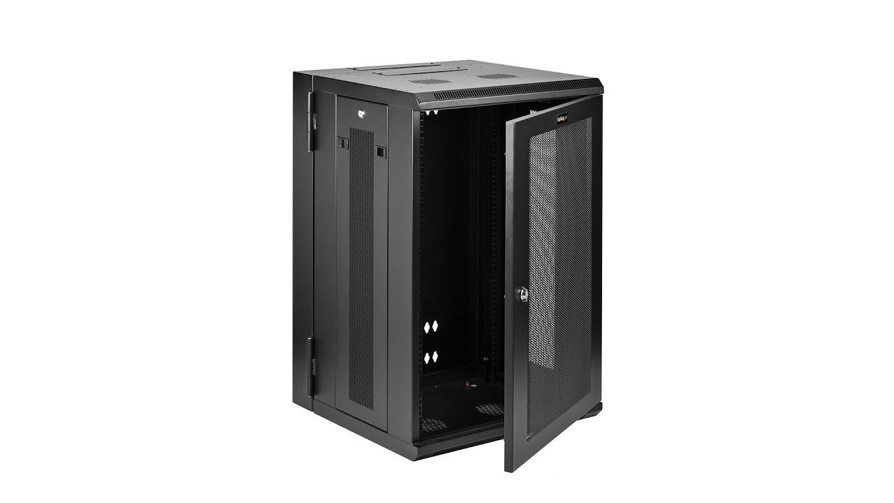 18u Wall Mount Network Switch Cabinet Rk1820walhm