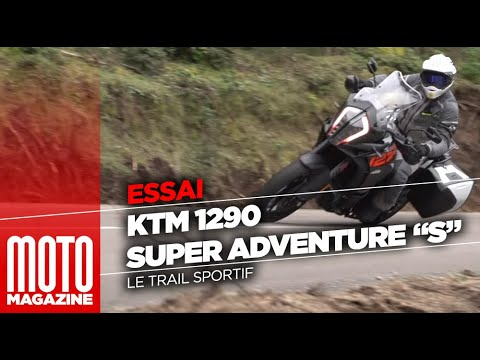 ktm 1290 super adventure s le trail sportif essai moto magazine 2017 youtube. Black Bedroom Furniture Sets. Home Design Ideas