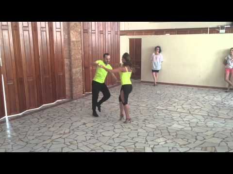 Adrian si Tatiana - Sonrisa Dance Center Cluj - Bachata PW (Suceava)