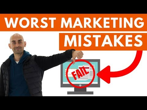 3 Marketing Mistakes You MUST Avoid | Marketing Tips and Tricks for Startups to Follow