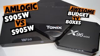 Less Than $40 Budget Android TV Boxes: Comparing Cheap Amlogic S905W Devices