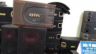 Dưới 6 Triệu Nên Mua Loa Karaoke Nào__ BIK 880( Bãi Nhật) vỏ gỗ Là 1 Lựa Chọn Rất Tốt