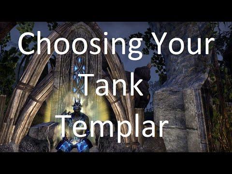 Eso Dragonknight Or Templar Tank