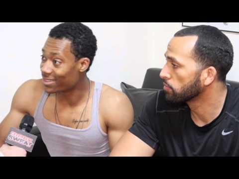 Tyler James Williams on Celebrity Sweat