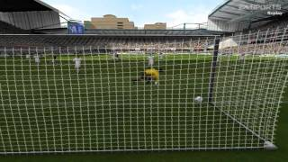 Fifa 2005 PC Gameplay Newcastle United vs Inter Milan