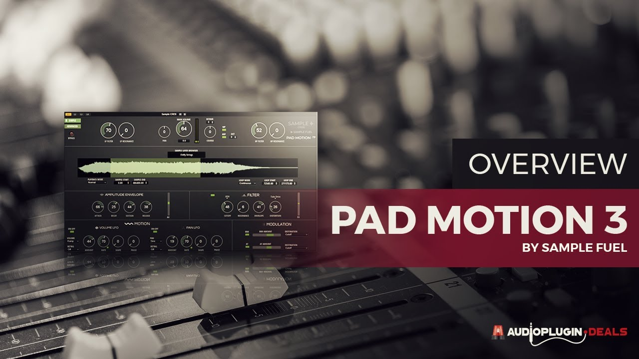 Checking Out Pad Motion 3 by Sample Fuel