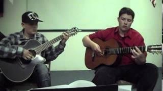 Vois Sur Ton Chemin guitar duet