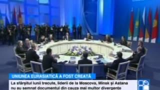 S-a împlinit un vis al lui Vladimir Putin: A fost constituită Uniunea Eurasiatică