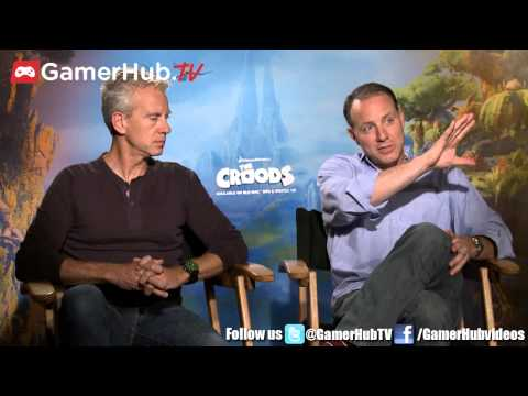 The Croods Kirk DeMicco And Chris Sanders Geek Out