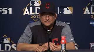 CLE@NYY Gm4: Francona on dropping Game 4 of the ALDS