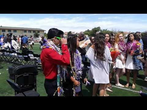 Isaac Daniel Correa 2016 American Canyon Middle school graduation