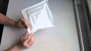 Origami Hyperbolic Parabola Instructions
