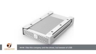 G-Technology G-DRIVE mini High-Speed Portable Hard Drive 1TB, USB 3.0, FireWire 800, 0G02576 |